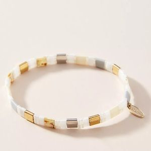 ANTHROPOLOGIE  Argentina Stretch Bracelet NWT